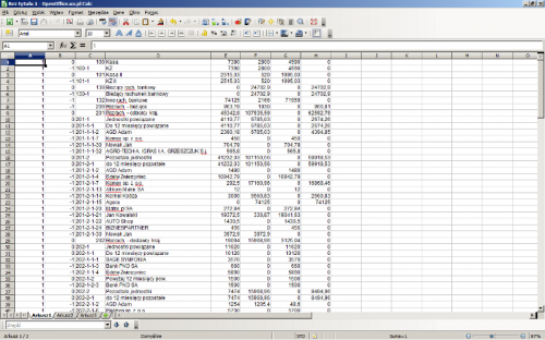 017 – Przeniesienie danych do Open Office